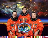 International Space Station Expedition 3 Official Crew Photograph